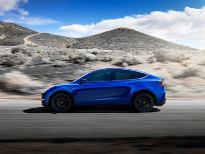 "The ""Performance"" version of the Model Y, due out in fall 2020, will go from 0 to 60 mph in a blistery 3.5 seconds, and offer 280 miles of range for a cool $60,000. And it has three rows, with room for seven.TESLA"