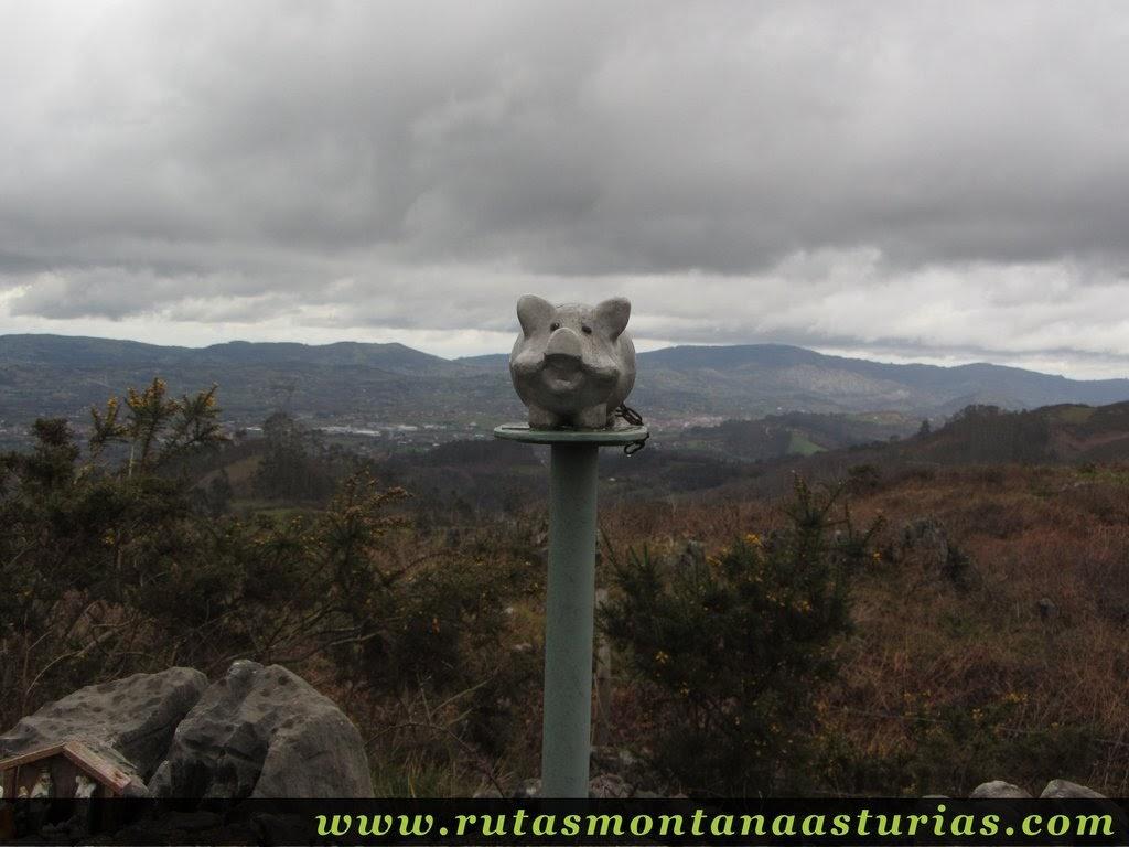 Ruta al santo medero 531 m desde molleo siero rutas - El tiempo en siero asturias ...