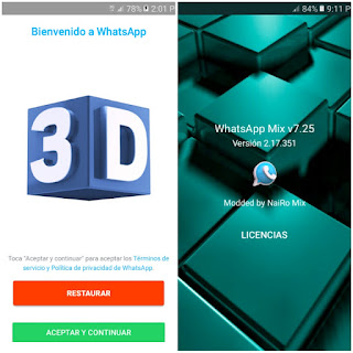 WhatsAppMix v7.25 WhatsAppMods.in