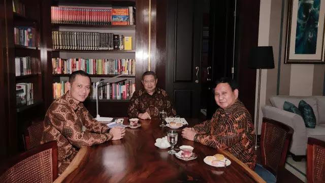 Jokowi Tawarin AHY Menteri, SBY Termakan Harapan Prabowo