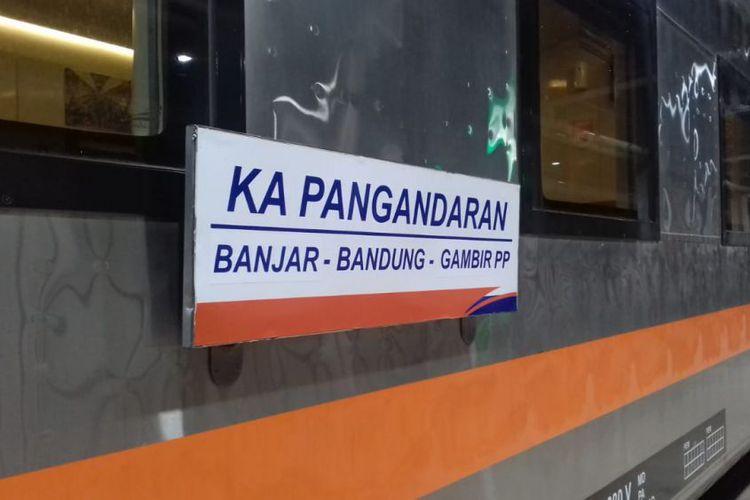 Wakil Gubernur Jawa Barat, Uu Ruzhanul Ulum serta Direktur Utama KAI Edi Sukmoro meluncurkan PT KAI rute Kereta Pangandaran, relasi Banjar - Bandung - Gambir (PP).