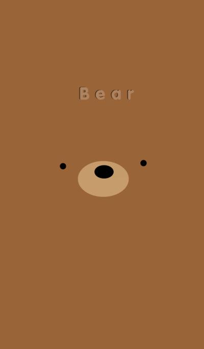 Simple Brown Bear
