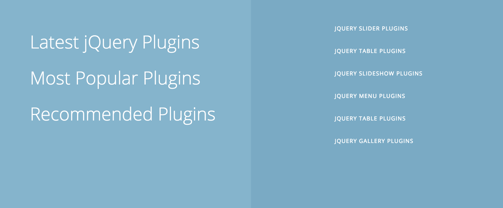 7 Cool jQuery Plugins for Transitions | jQuery By Example
