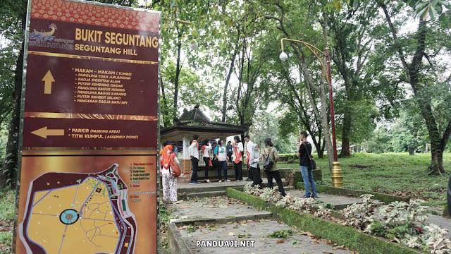 Bukit Seguntang di Palembang
