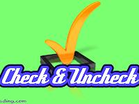 Cara Gampang Menciptakan Check All Dan Uncheck All Di Php Dengan Javasccritp