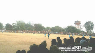 Ramrup Mehta football match ceremony.
