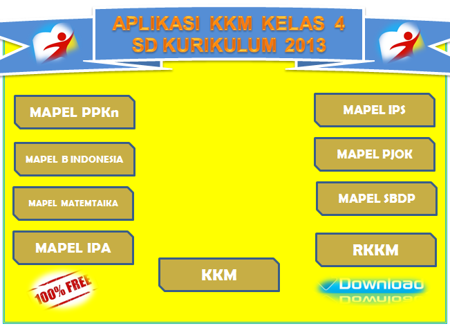 Download Contoh KKM Kelas 4 Kurikulum 2013 Revisi Terbaru ...