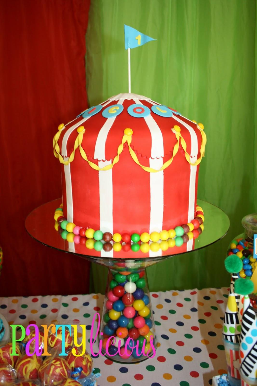 Partylicious Events Pr Circus Spectacular Birthday