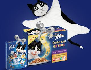 Logo ''Felix Gatti da Marachelle 2'': vinci 62 forniture e 62 cuscini per il tuo gatto