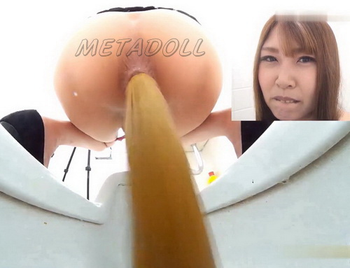 [JG-274] Girls self filmed pooping in public toilet