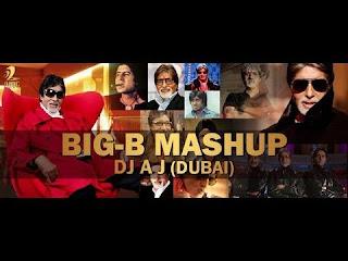 Funnypagalwold: Amitabh Bachchan Special Mashup - DJ AJ Dubai ~ Mp3