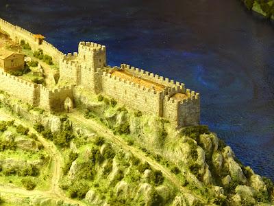 Maqueta del Castillo de San Vicente de la Barquera, Cantabria
