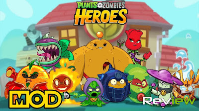 Plants vs. Zombies Heroes Mod (Unlimited Suns/Infinite Heart) Apk Download