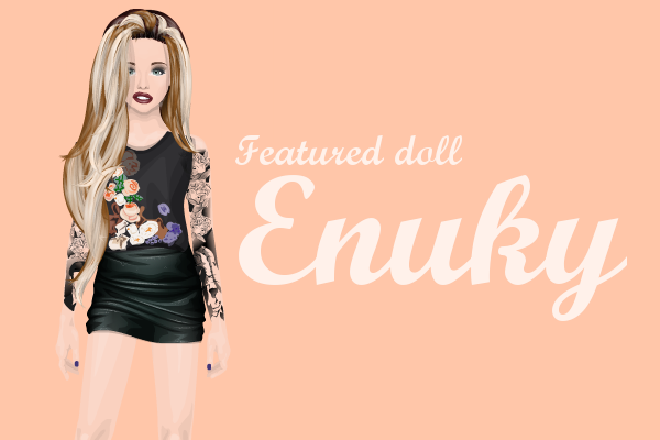 Featured doll - Enuky   Stardoll Chat