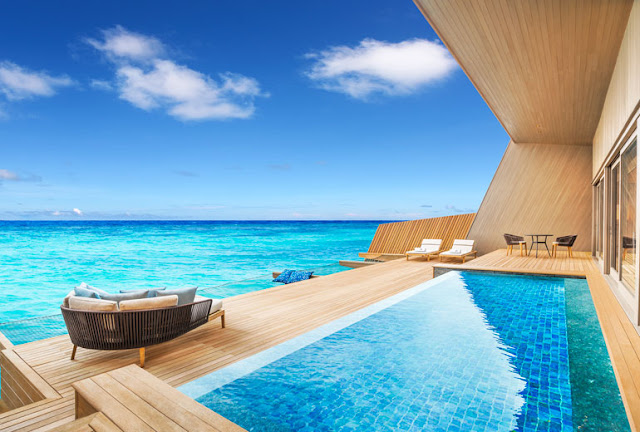 The St. Regis Maldives Vommuli Resort, Water Villa