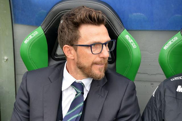 BAADA YA KUTOLEWA UEFA, EUSEBIO DE FRANCESCO AFUNGIWA VIRAGO NA AS ROMA