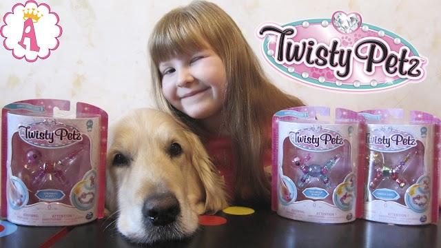 Игрушки браслеты Twisty Petz: модные украшения для девочек от Spin Master