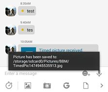 BBM Mod V3.0.1.25 With Save Timed Picture Apk1