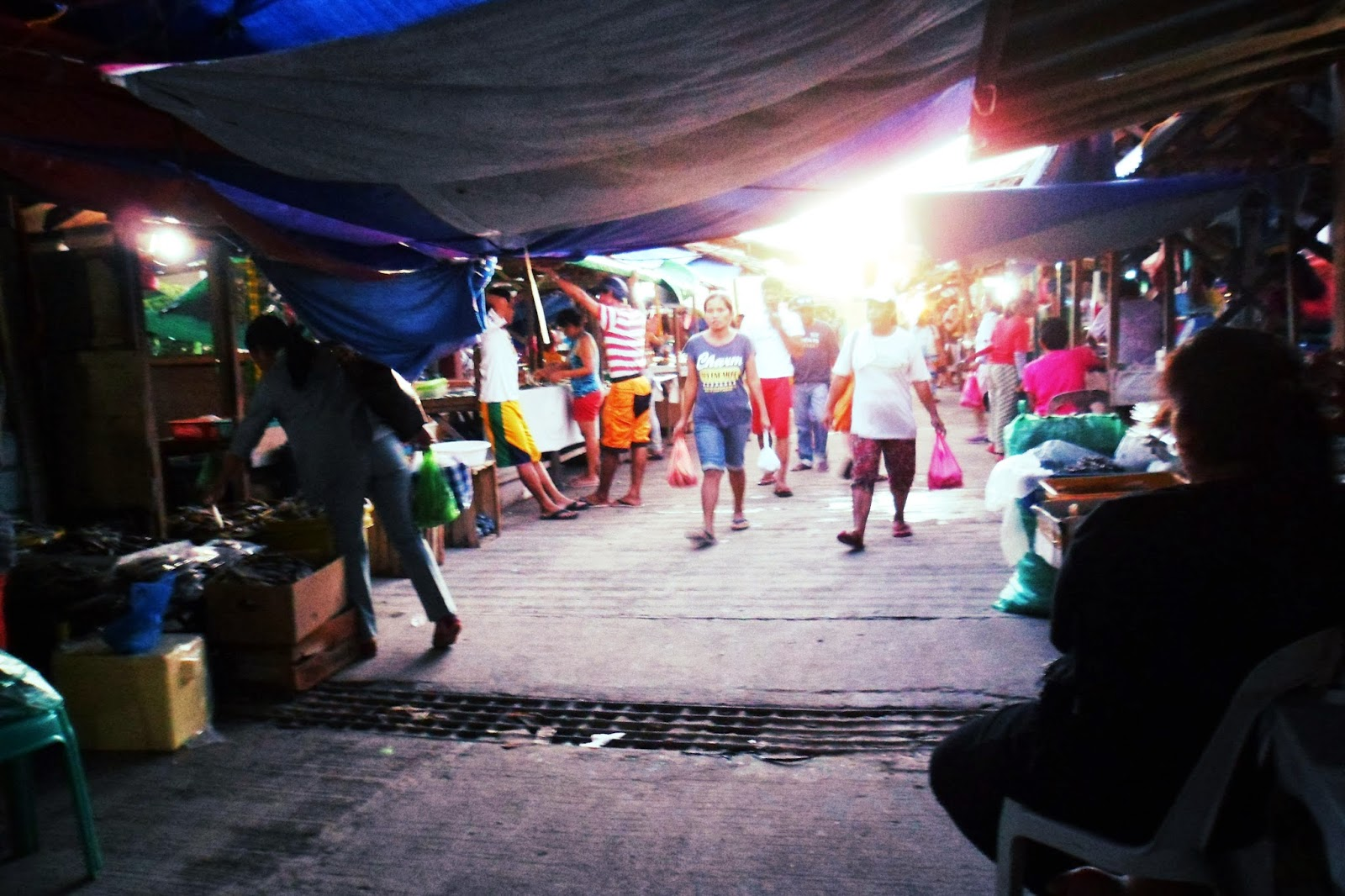 local market in Bantayan Island