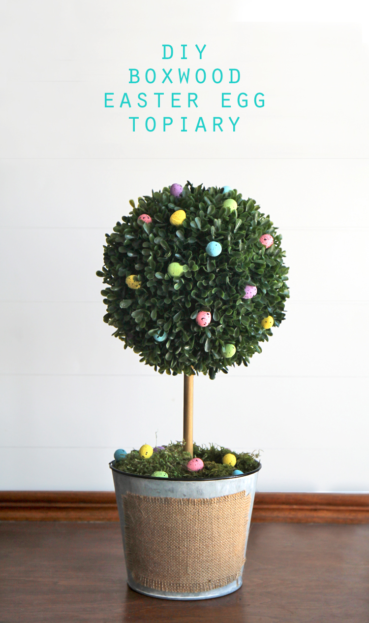 How to make your own spring decorative tree