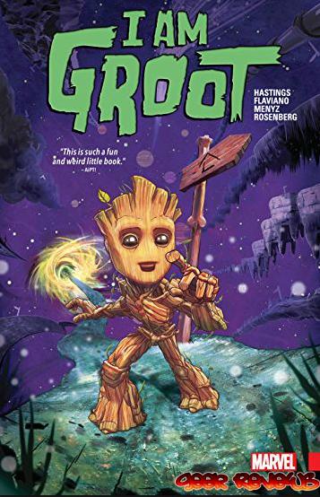 מעולה  I AM GROOT- ביקורת קומיקס ZZ-46