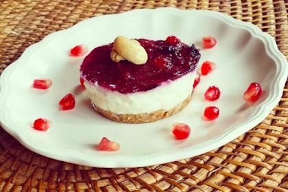 Protein-rich cheesecake