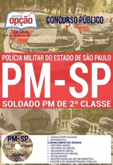 Apostilas do Concurso PM SP 2017   Soldado PM de 2ª Classe