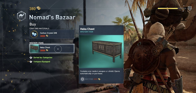 Assassin's Creed Origins contará con cajas botín