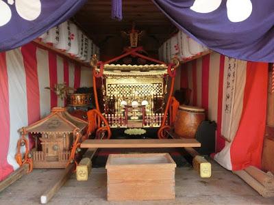 荏柄天神社の神輿