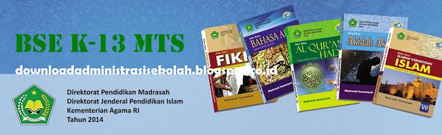 Buku Bahasa Arab MTs Kelas 9 Kurikulum 2013 PDF (Guru dan Siswa)