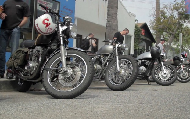 cafe racer mini docodownshift ~ return of the cafe racers