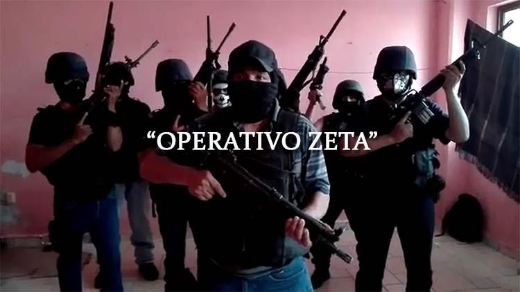 """VIDEO: """"Nosotros no somos iguales"""" 'Operativo Zeta' anuncia una limpia contra la '35 Zeta' en Xalapa, Veracruz"""