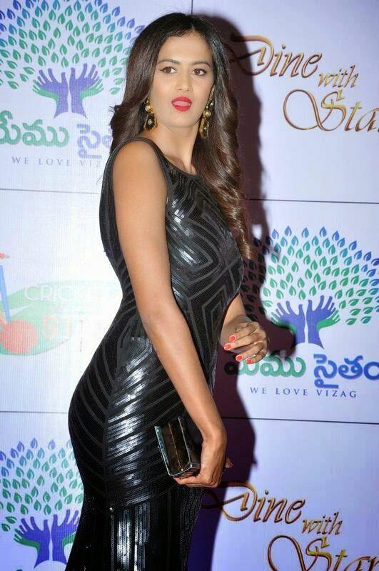 Telugu Actress Subra Ayyappa, Shubra Aiyappa hot Pics in Black Tight Dress - Indian Kim Kardashian