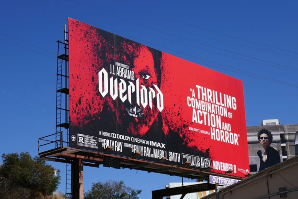 Overlord movie billboard