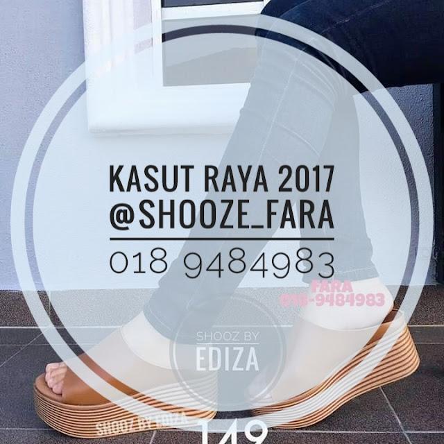 Kasut Raya Cantik dari Shooze_Fara