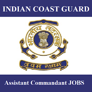 Indian Coast Guard, Ministry of Defence, Force, Assistant Commandant, Graduation, freejobalert, Sarkari Naukri, Latest Jobs, indian coast guard logo