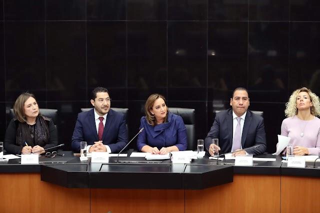 Recibe Martí Batres propuesta de Ley General de Seguridad Vial, de organizaciones de la sociedad civil