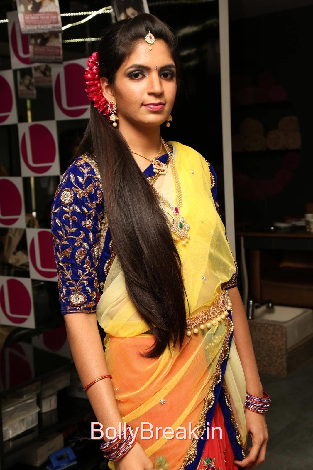 Anusha Photos, Anusha Hot Pics from Bridal Dream Make up At Lakme Salon
