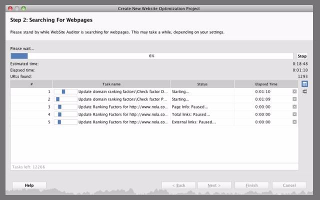 تحليل موقعك باستخدام برنامج طريقة استخدام برنامج WebSite Auditor