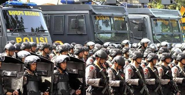 Polri: Kekuatan Maksimal Disiagakan di Jakarta 22 Mei