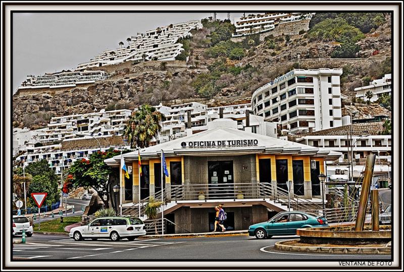 Ventana de foto puerto rico gran canaria for Oficina de turismo gran canaria
