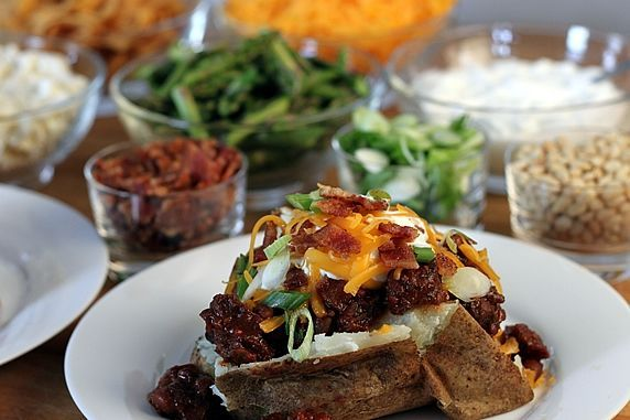 So We Think We Can Cook!: Baked Potato Bar
