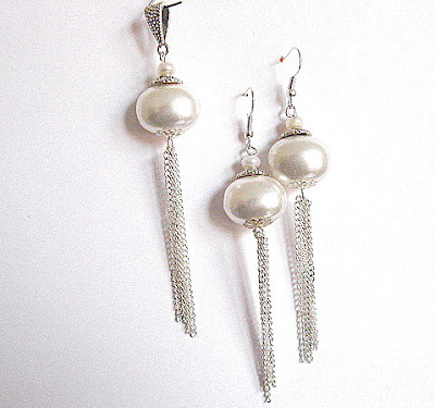 Bijuterie din perle naturale pret 50 lei