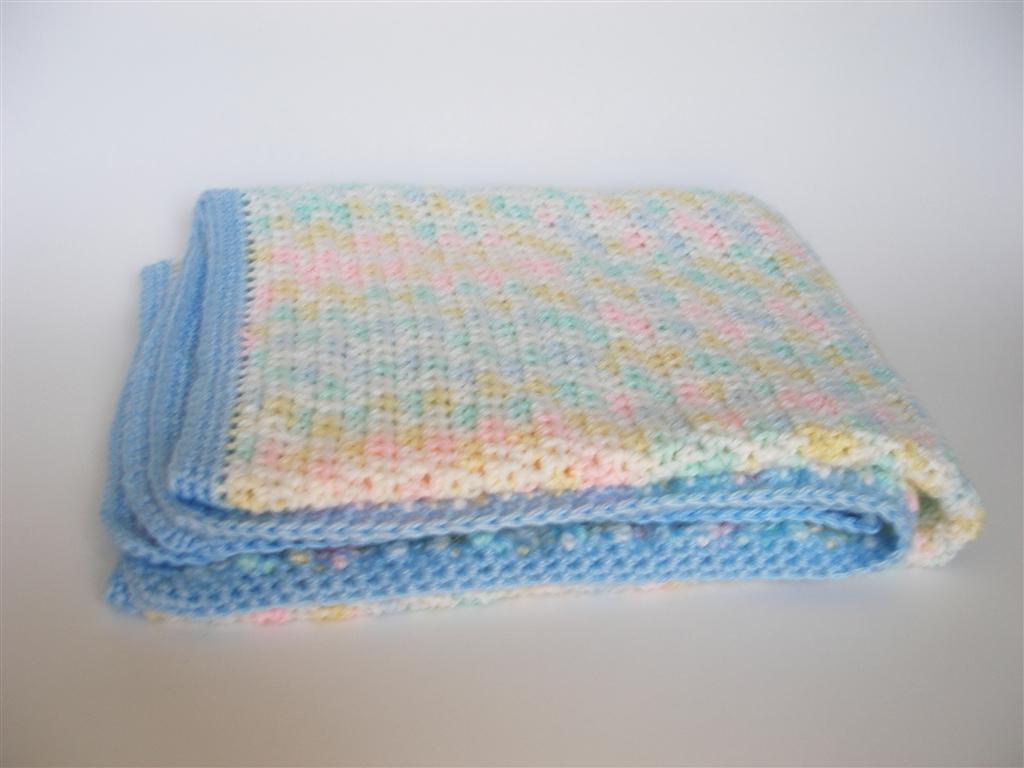 Car Blanket: Crocheting Blind: Crochet Project: Car Seat Blanket