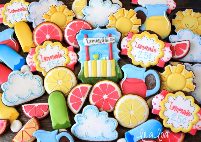 How to make decorated lemonade sugar cookies -- tutorial