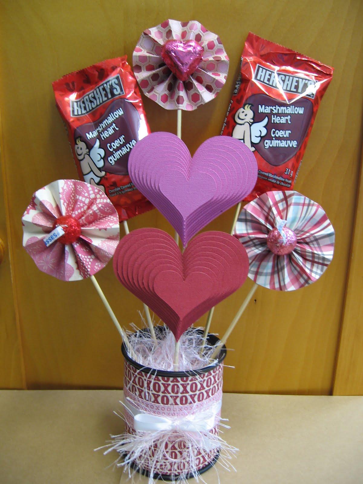 Homemade Valentine Candy Bouquet Interior Design Photos Gallery