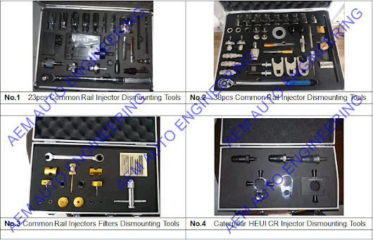 Common Rail Injector and Pump Dismantling Tools