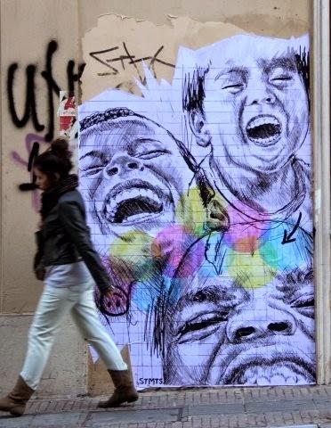 STMTS Street Artist Athens