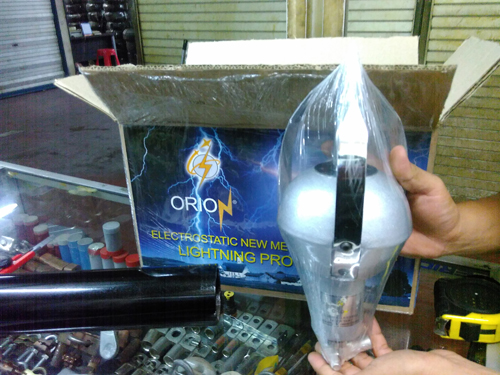 Head Terminal Penangkal Petir Orion R150