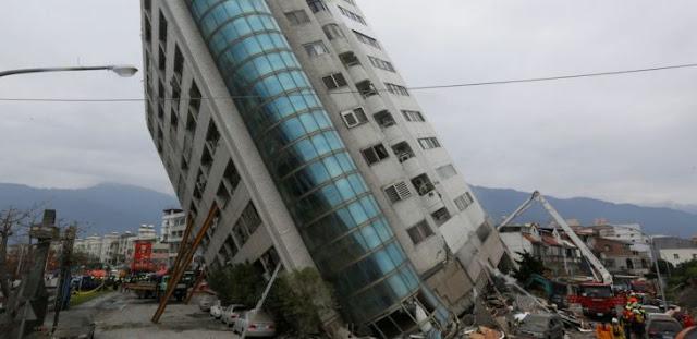 Gempa Hebat Guncang Taiwan, 150 Warga Hilang, 219 Terluka, 2 Tewas